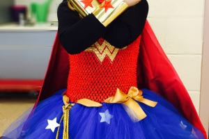wonder woman child costume and accessories