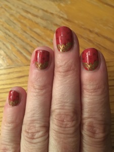 Jamberry wonder woman nail wraps