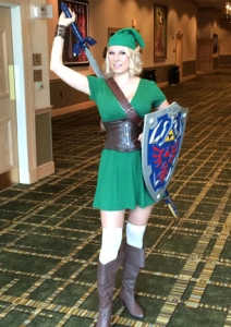Link legend of zelda cosplay
