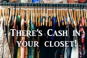 cash in your closet