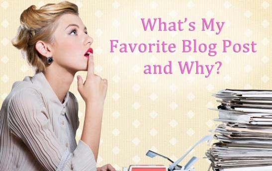 favorite blog post