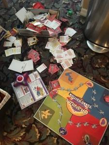 cranium game toddler mess