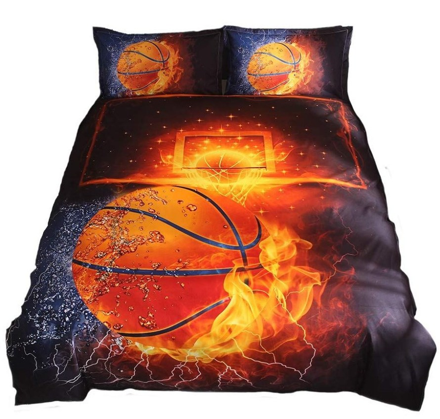 flaming-basketball-sheets