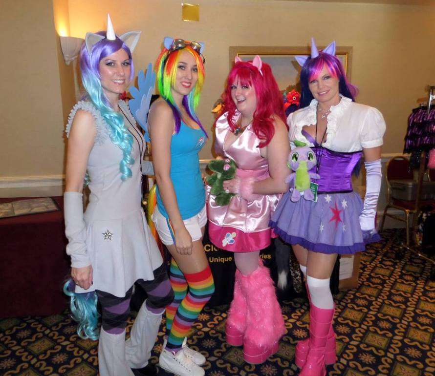 My Little Pony cosplayers at WasabiCon