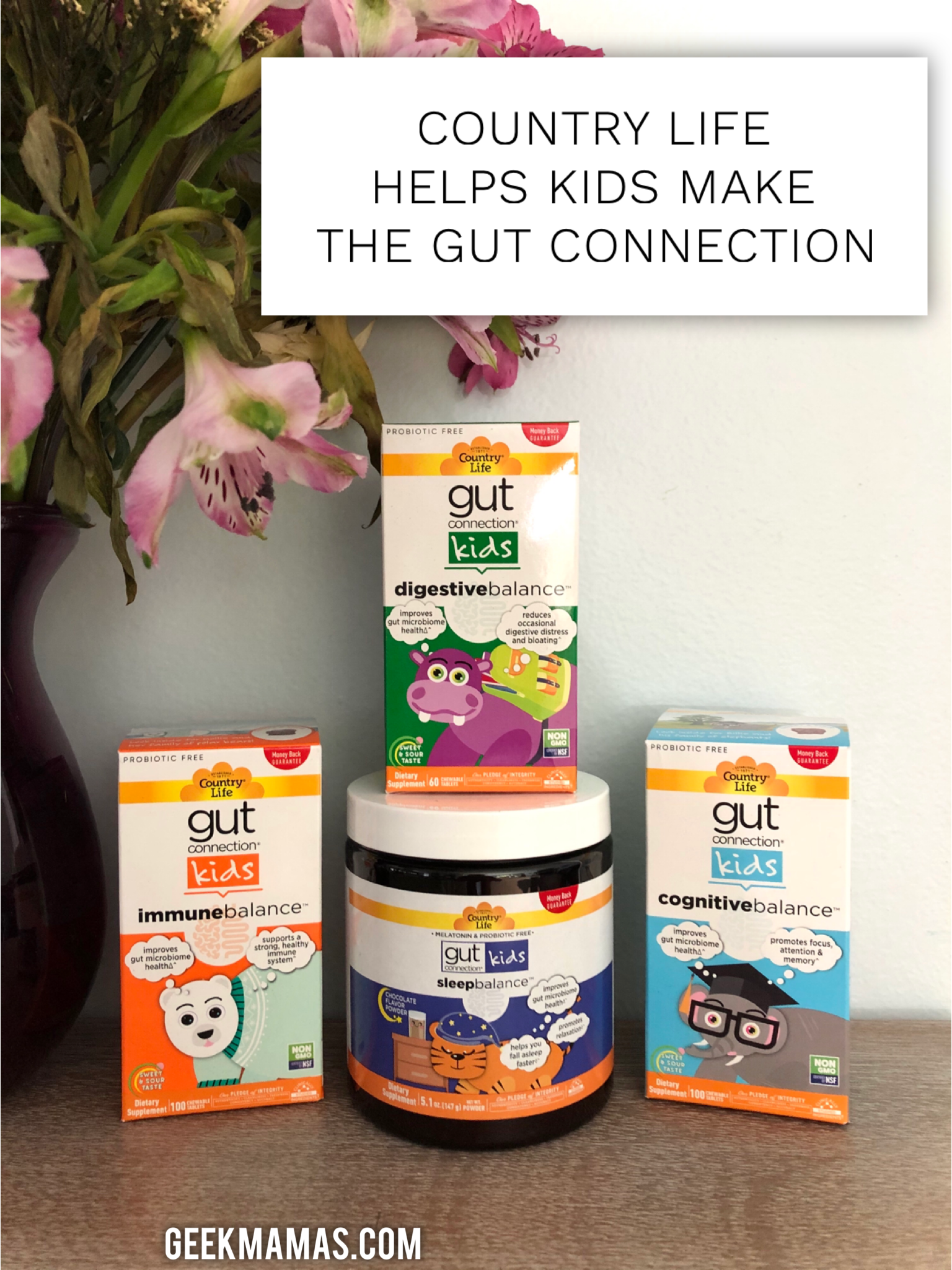 country life gut health for kids