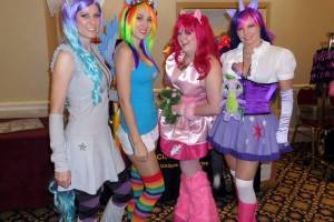 my little pony cosplayers at wasbicon