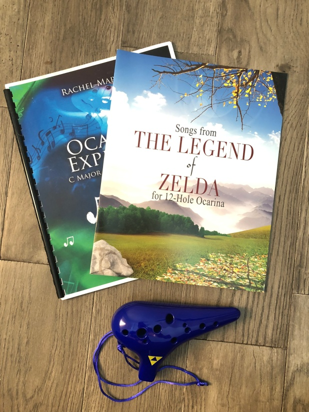legend of zelda ocarina and music books