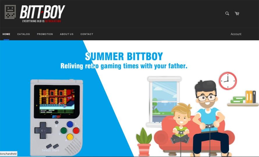 bittboy handheld game