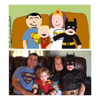 dorkymomdoodle family
