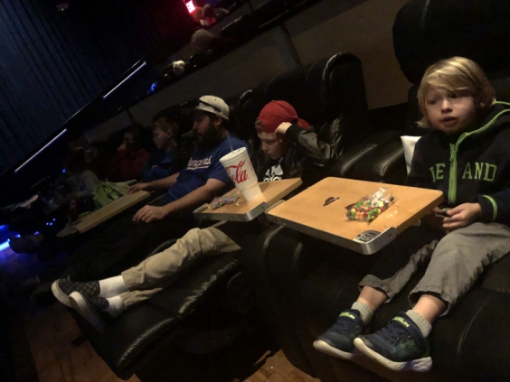Jumanji night at the movies