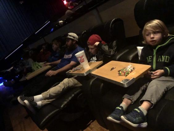Jumanji night at the movies