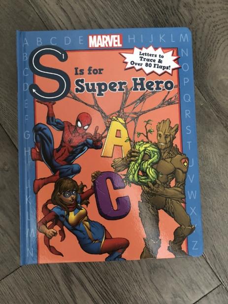 Superhero-book