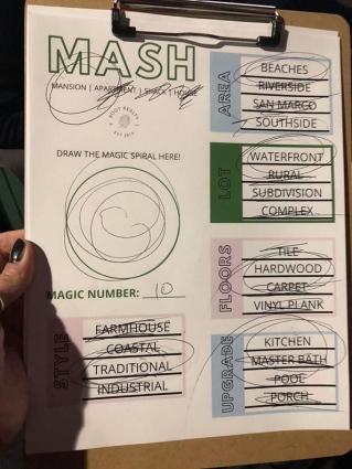 Playing MASH