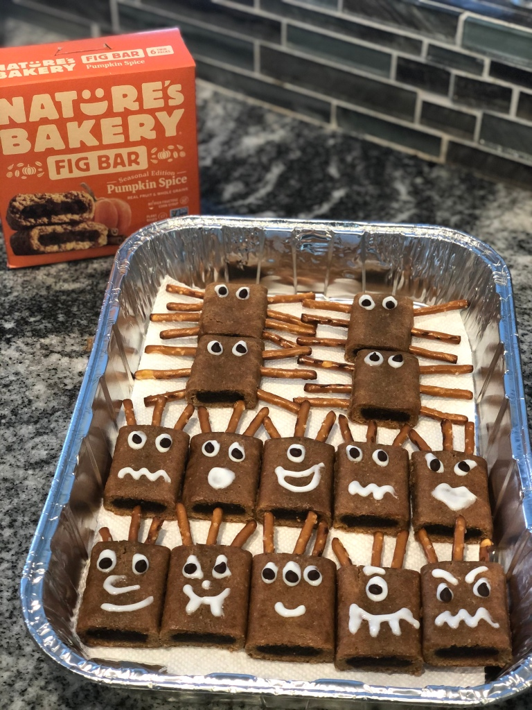 spiders and monsters halloween treats