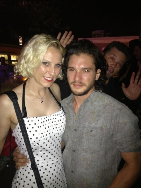 kit harrington at san diego comic con