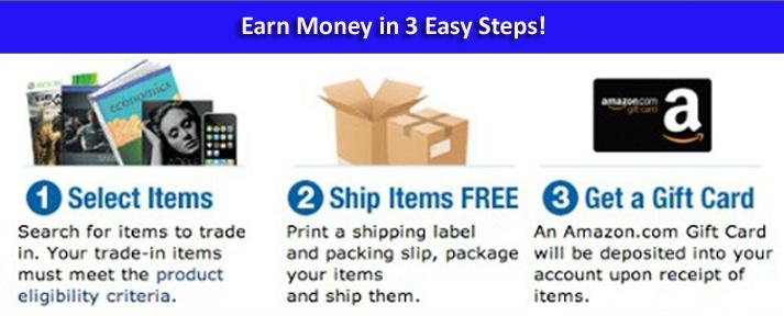 earn money amazon trade in program