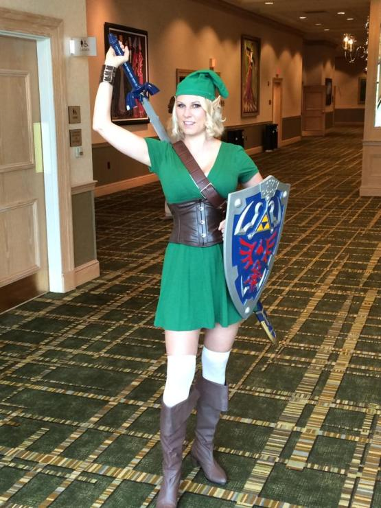 link cosplay candy keane gamer mom