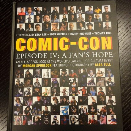 ComicCon Episode IV A Fans Hope book