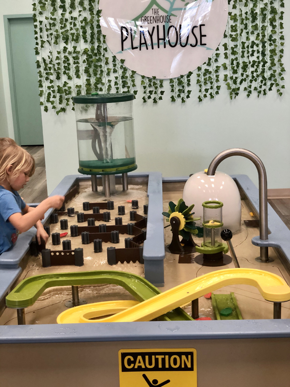 water table at greenhouse playhouse