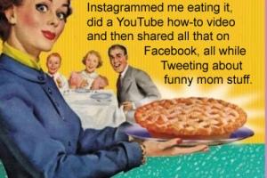 crazy mom blogger
