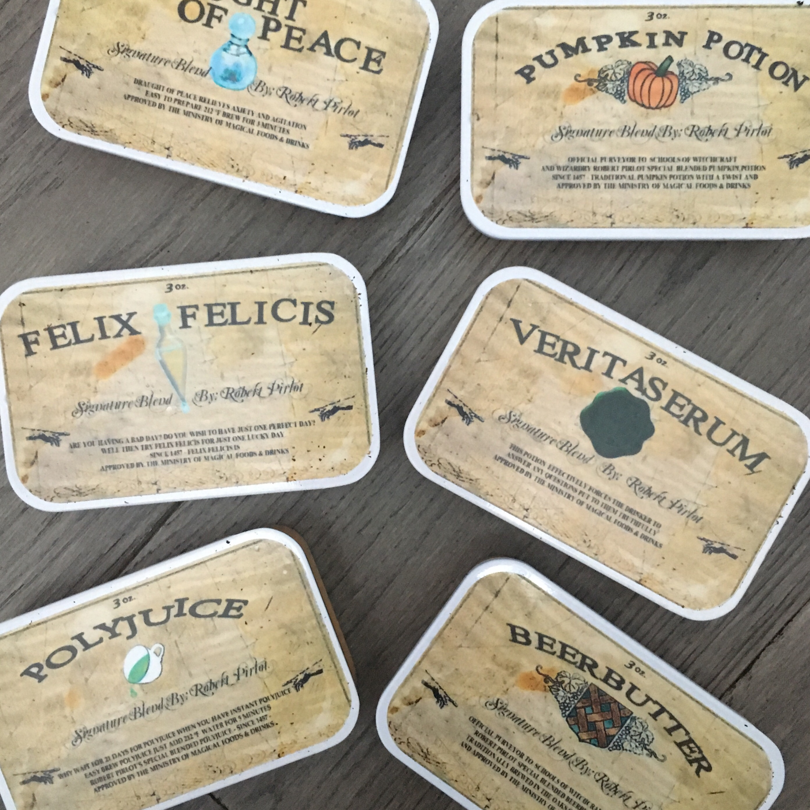 Harry Potter themed tea by Adagio