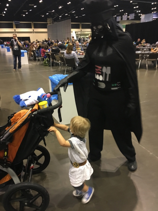 taking kids to comic cons