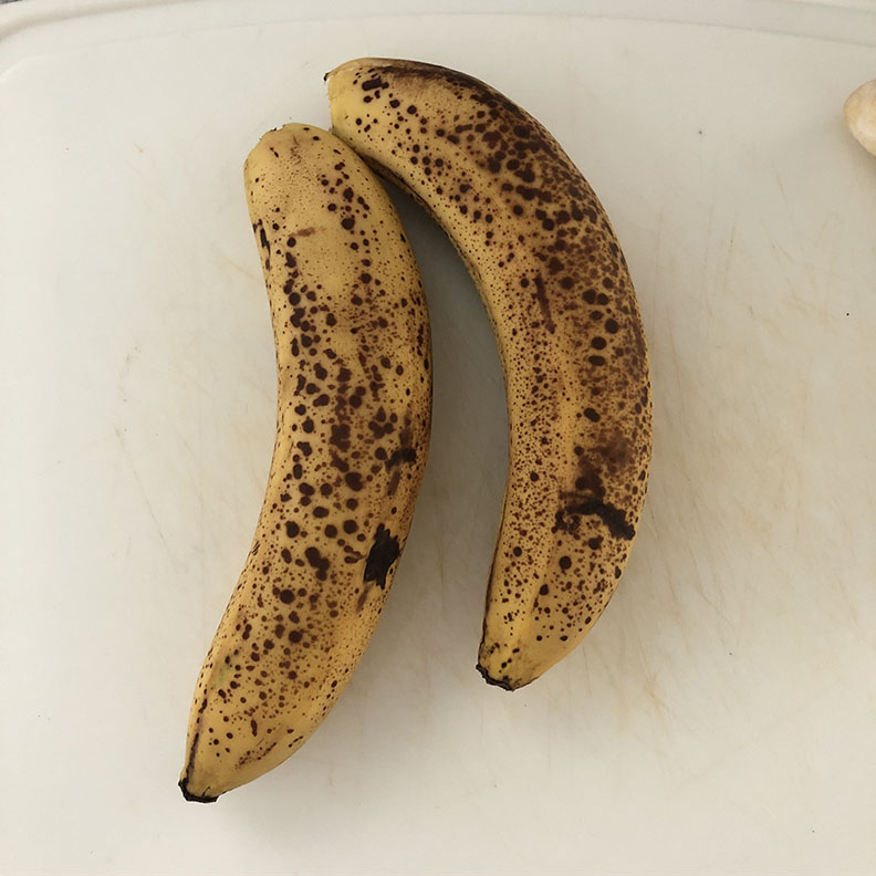 bananas ready for ice cream