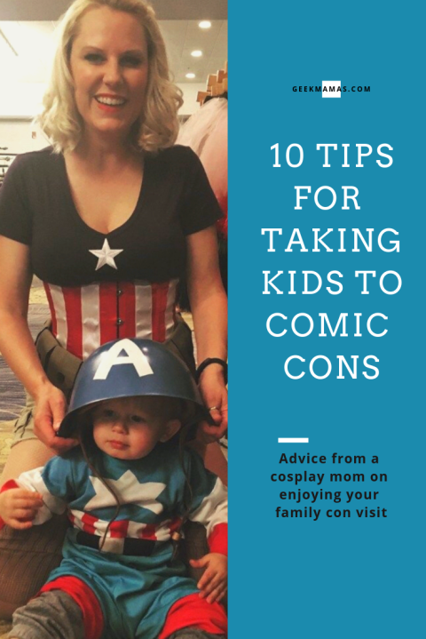 10 tips for taking kids to comic cons from a cosplay mom