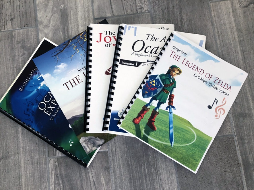 Ocarina Music Books