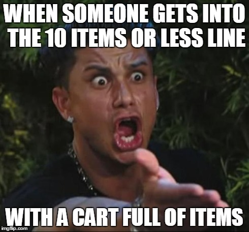 10 items or less