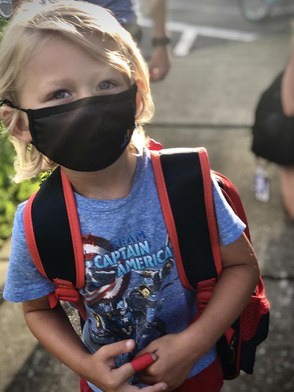 kindergarten face mask