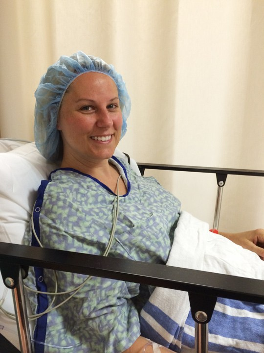 Ready for surgery!