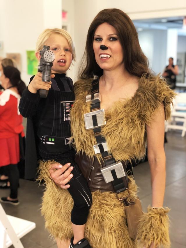 female chewbacca costume Star Wars