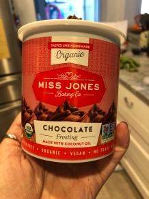 Miss Jones chocolate frosting