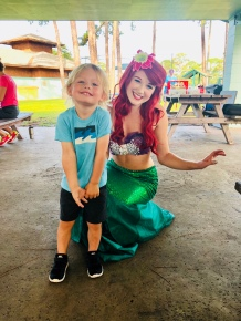 Pics with the Little Mermaid