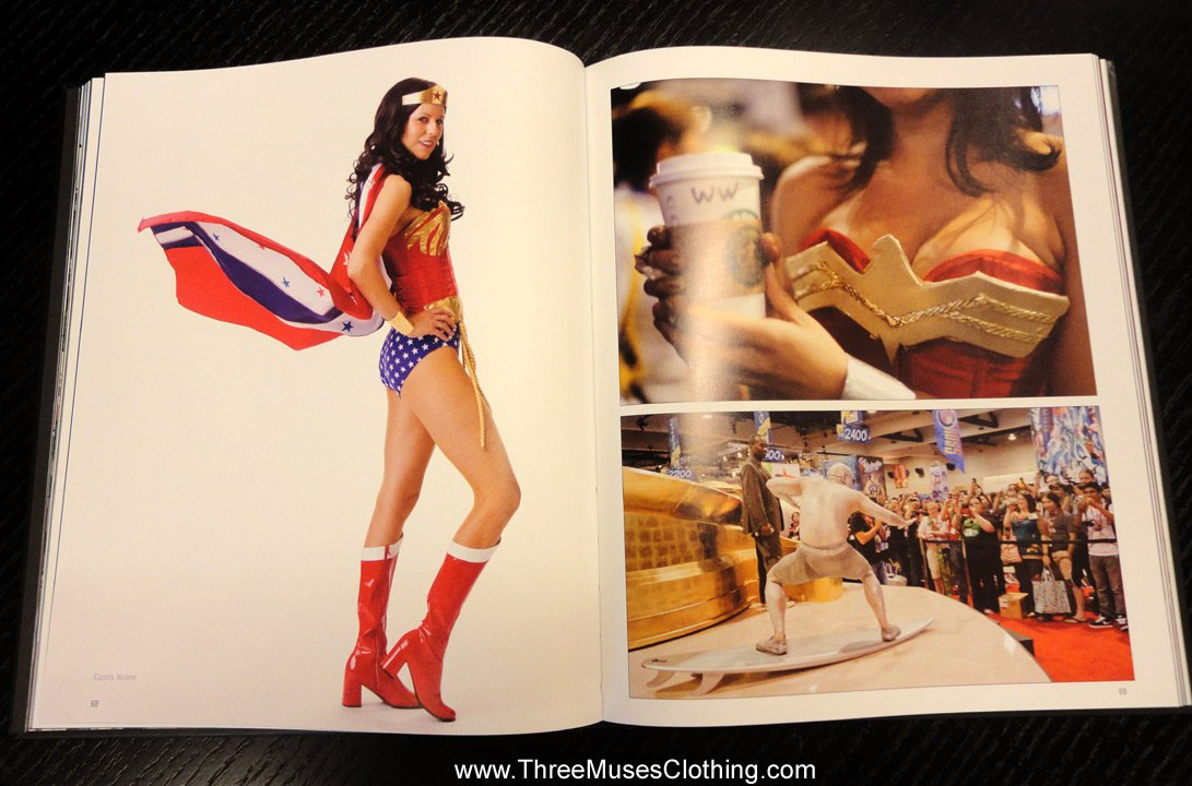 Candy Keane as Wonder Woman