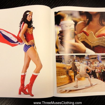 Candy Keane as Wonder Woman
