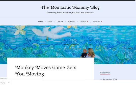 momtastic mommy blog