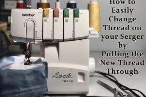 changing serger thread