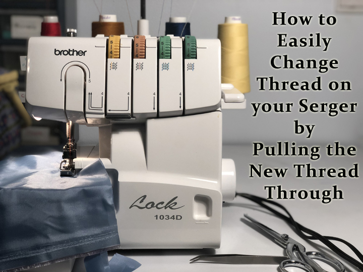 changing serger thread