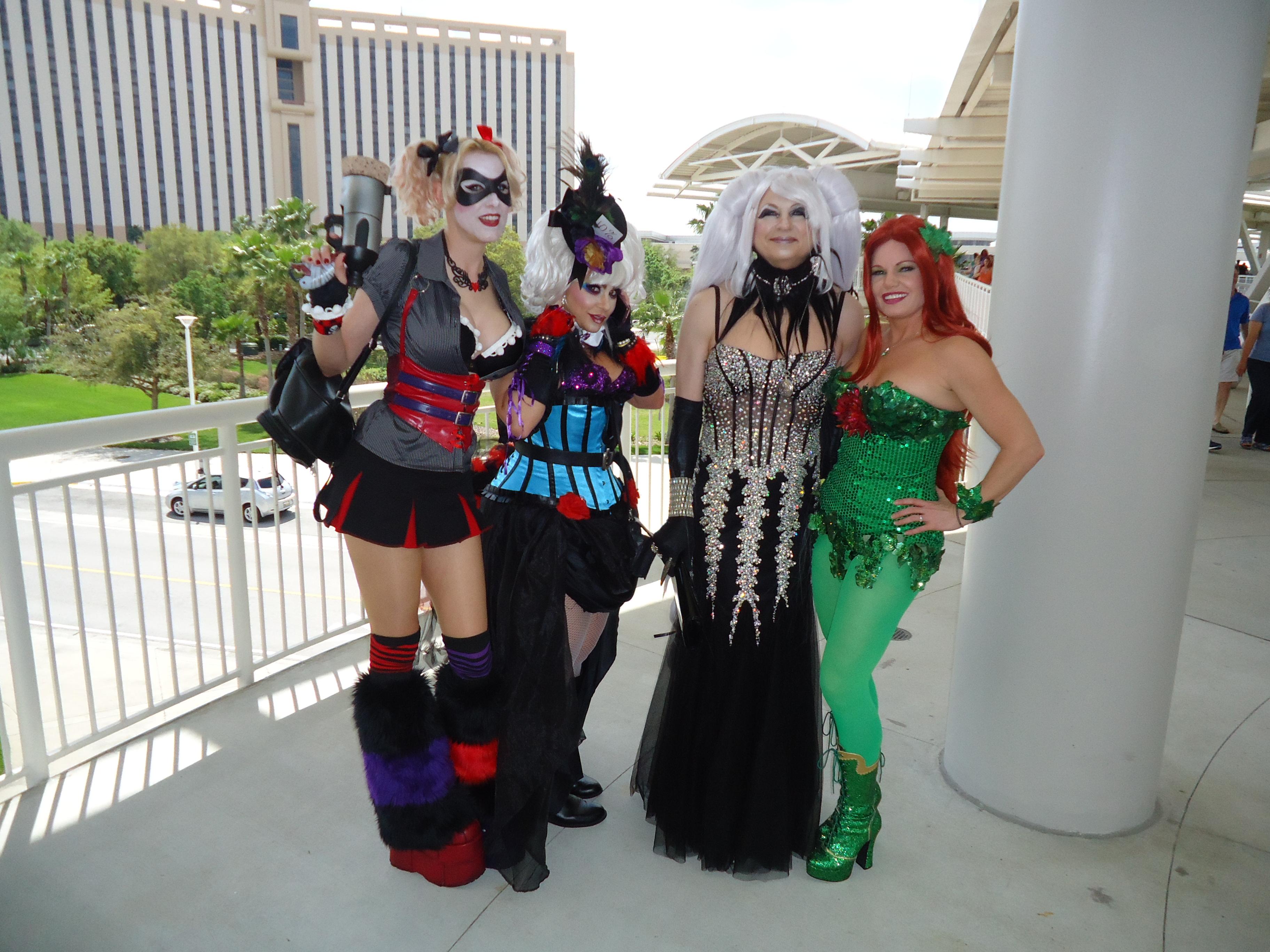 Cosplayers at MegaCon