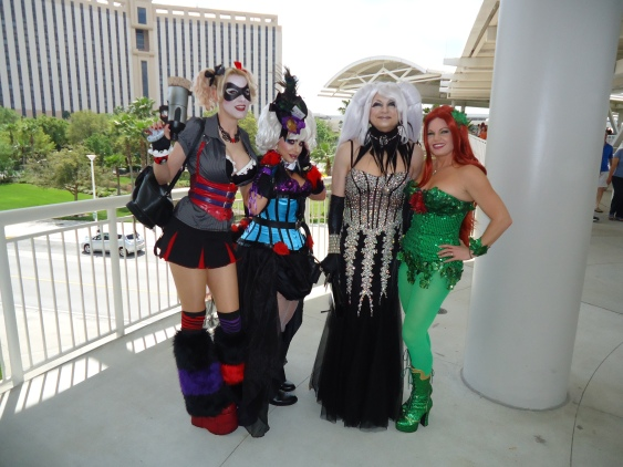 Cosplayers at MegaCon