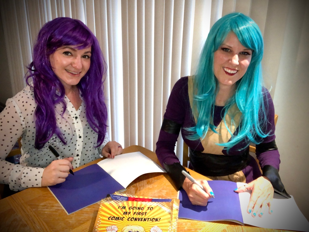 signing our new childrens book
