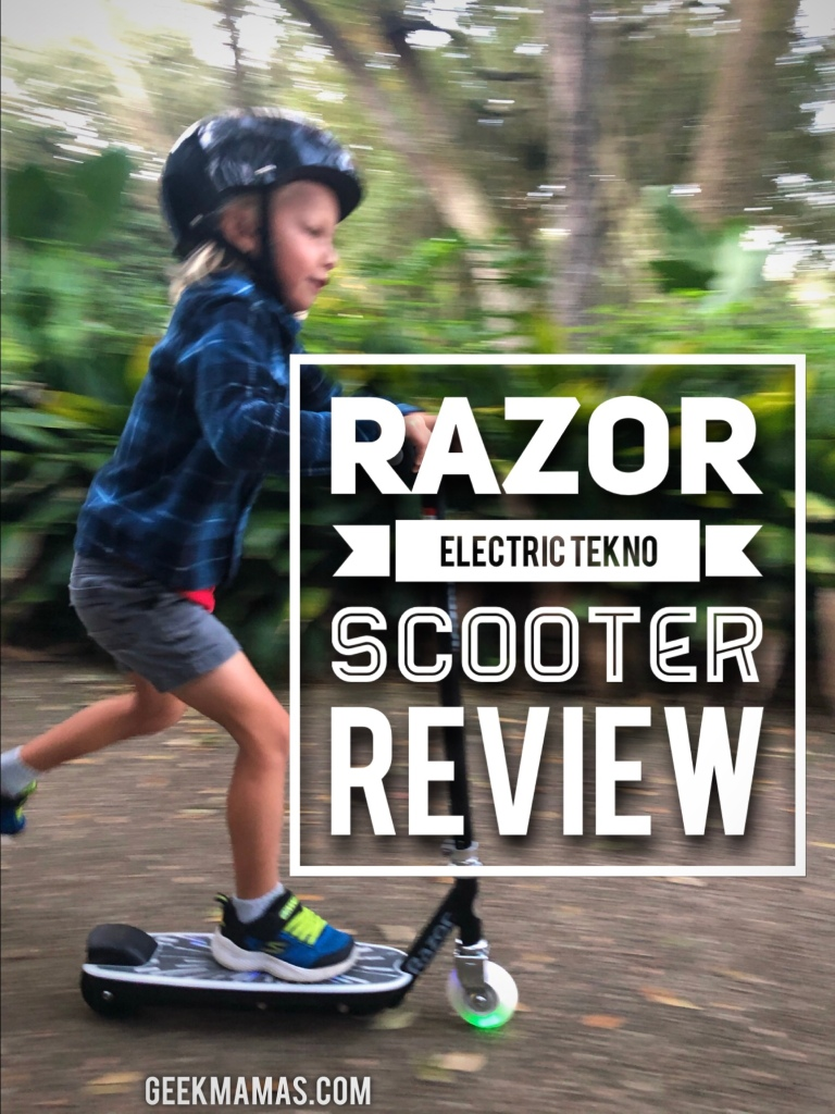 razor electric tekno scooter review
