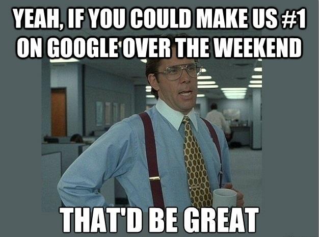 google seo funny meme