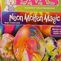 neon molten magic egg kit