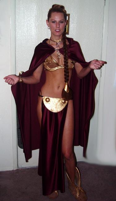 Candy Keane Slave Leia Cosplay Costume