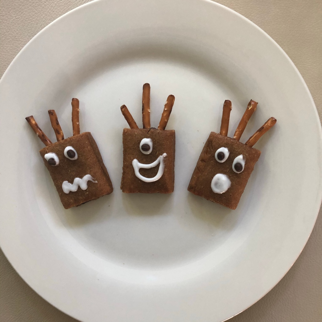 monster halloween treats with natures bakery