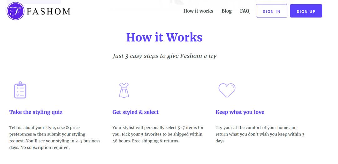 fashom-website