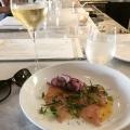 Yellowtail Carpaccio at Restaurant Doro